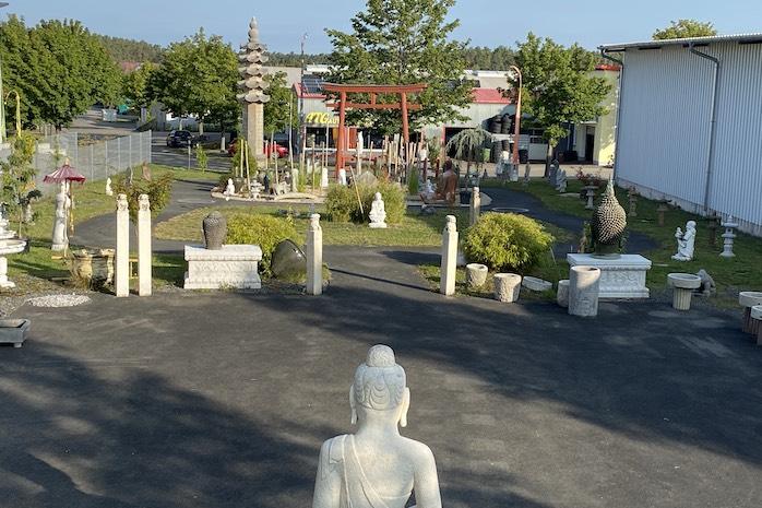 Asien-Garten-Hip