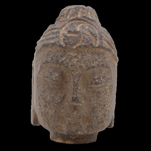 Stein Buddha Kopf (12,5cm) Siddharta Gautama