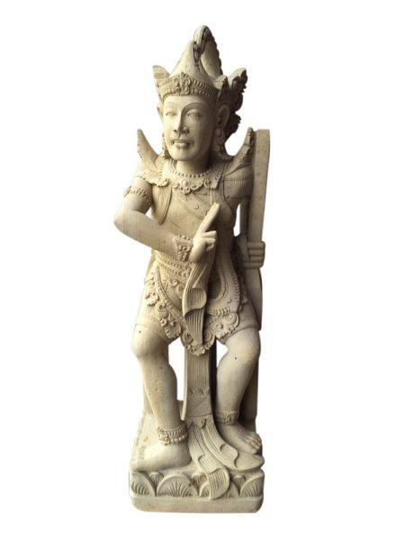 Jäger/Wächter aus Tuffstein Antiquität aus Bali