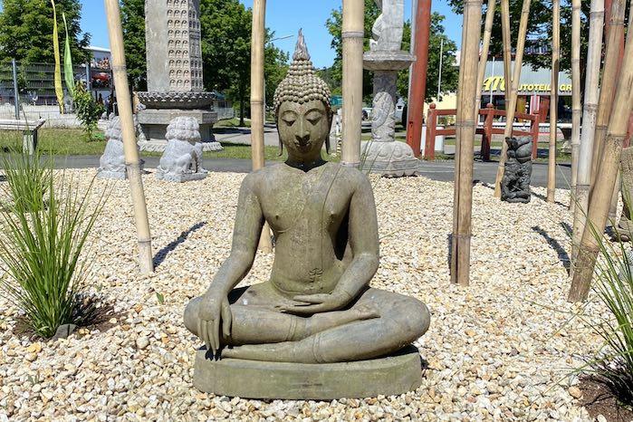 Sitzender-Bronze-Buddha