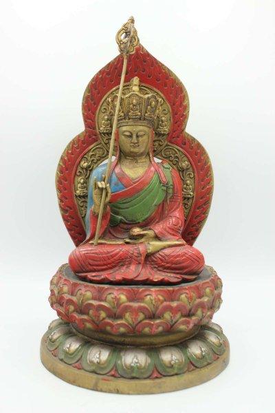 Ksitigarbha Bronze Figur aus China