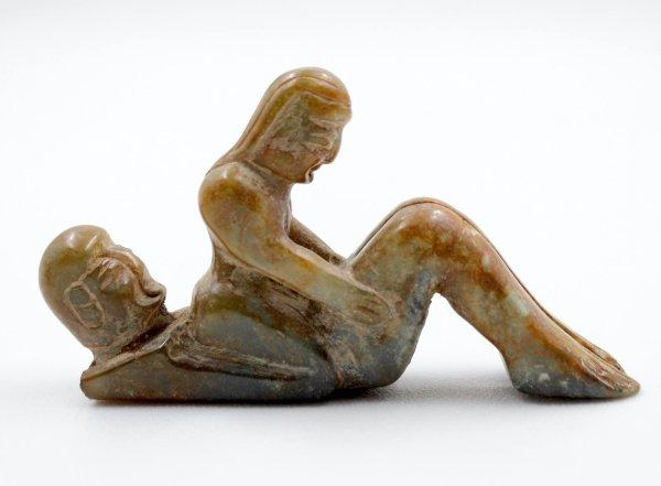 Kamasutra Hongshan China Jade Figur