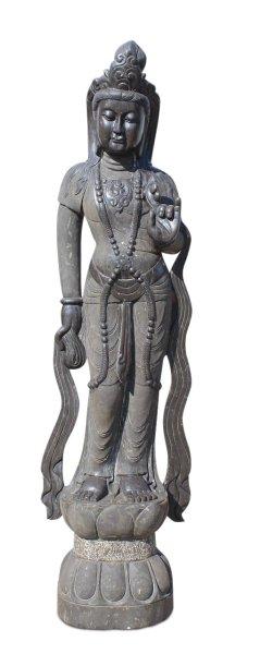 Garten-Buddha Statue Kwan-Yin, 181 cm