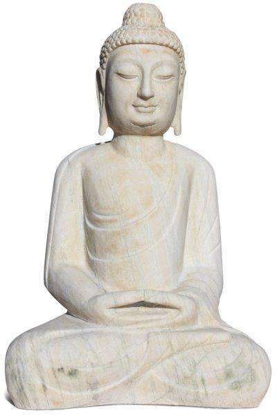 Marmorstein Buddha Statue 76 cm