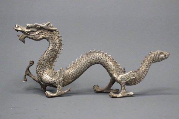 Chinesische Drachen Figur - 30 cm