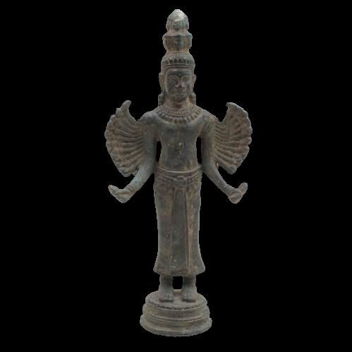 Hevajra Bronze Figur (26,5cm) Thailand Statue