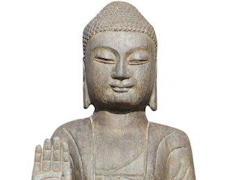 Sitzender: Gartenbuddha ❤