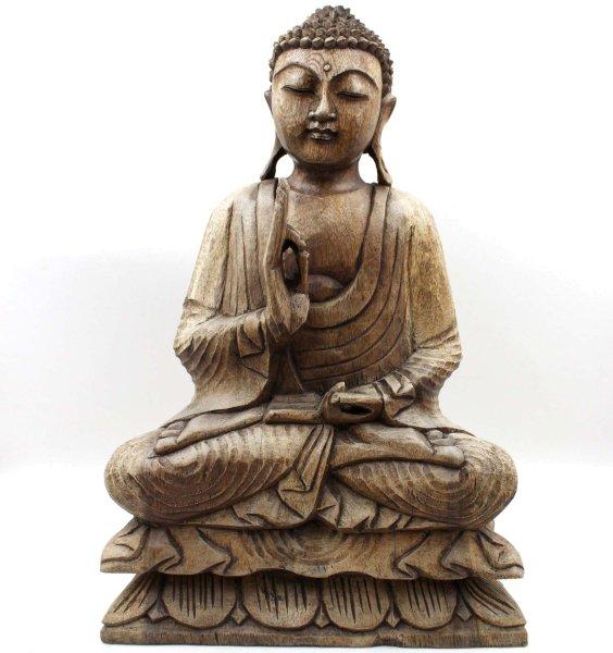 Lehrende Buddha Figur (48cm) Südostasien