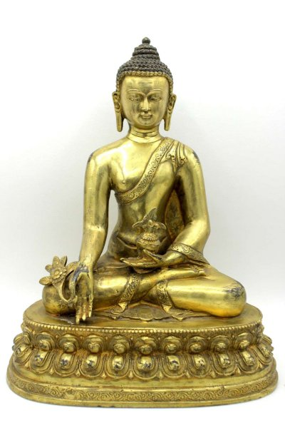 Medizin Buddha - Bronze Figur