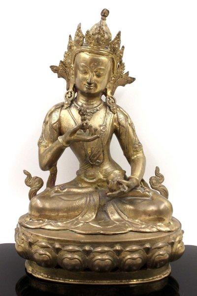 Buddha Figur Vajrasatva aus Bronze - 42cm