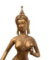 Tanzender Tempelwächter Bronze (40cm) Teppanom Figur
