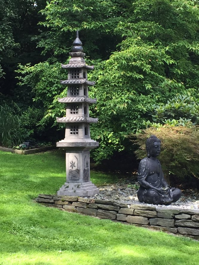 Asia-Garten-Kle