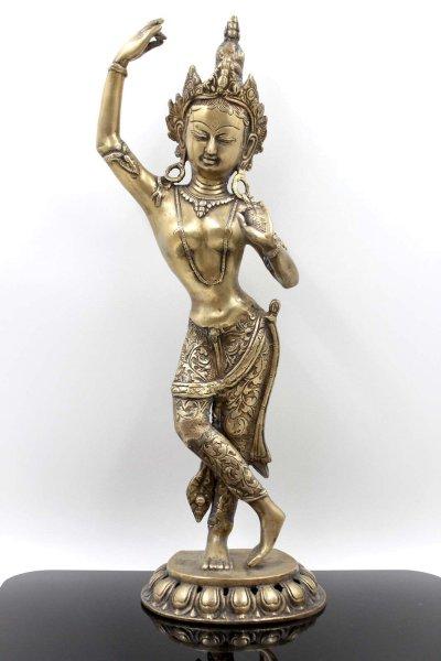 Mayadevi Figur Bronze (50,5cm) Mutter des Siddharta