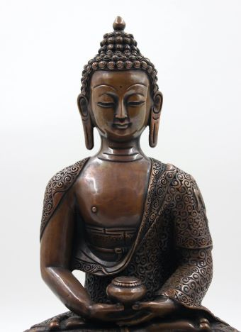 Kupfer-Buddha
