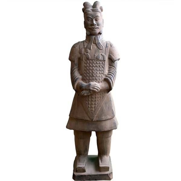 Terrakotta Krieger (106cm) Ton Soldat aus China - Nachlass