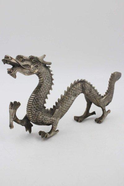 Chinesische Drachen Figur aus Bronze