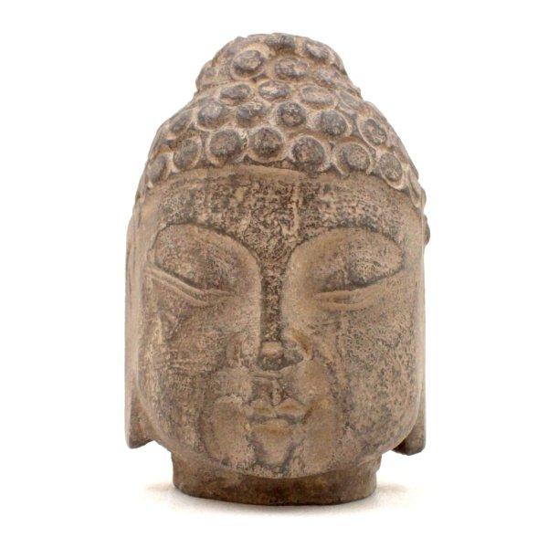 Stein Buddha Kopf (12cm) Siddharta Gautama