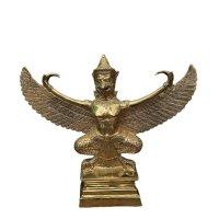 Garuda Figur Messing (29cm) asiatischer Götterbote - Thailand