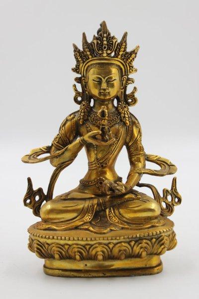 Buddha Figur Vajrasattva aus Bronze - China