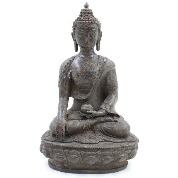 Shakyamui Buddha Figur (32cm) Siddharta Gautama Bronze