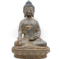 Buddha Ratnasambhava (36cm) Bronze Figur China
