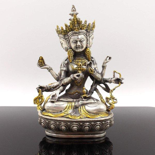 Ushnishavijaya Namgyalma Buddha (22cm) Bronze Figur