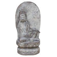 Chinesischer Garten Guanyin Buddha (81cm) Naturstein Statue