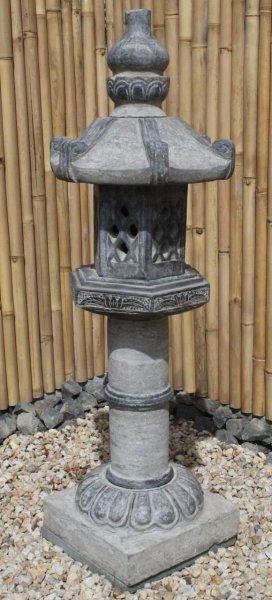 Asiatische Steinlaterne - Geisterhaus für Garten