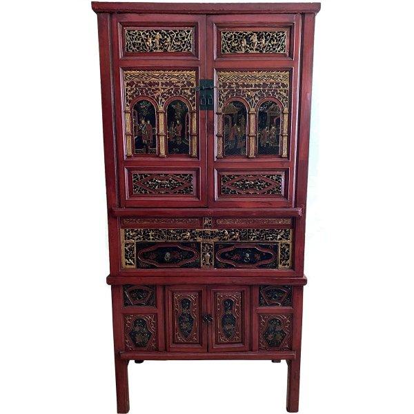 Asia Möbel Schrank aus China 194cm - 2-teilig