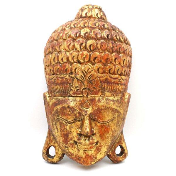 Thailändische Buddha Maske (40cm) Siddharta Holz Kopf