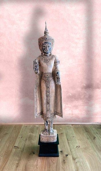 Wochentag Buddha ´Montag´aus Holz - 174 cm