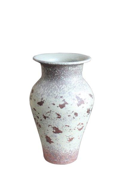 Vintage Look Blumen Vase - Shabby-Chic