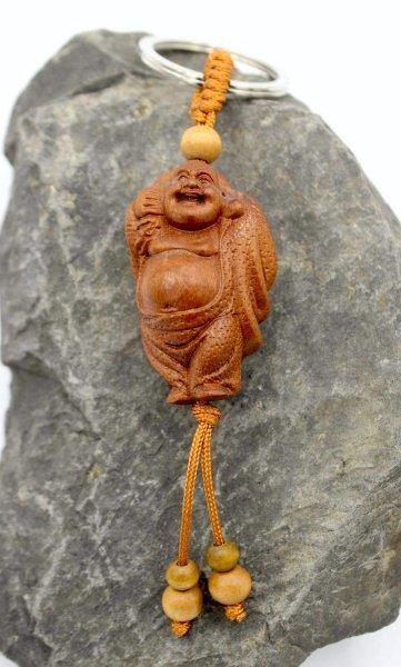 China Hotai Buddha Schlüsselanhänger - Rosenholz