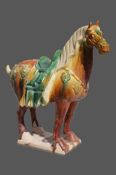 Oranges Tang Pferd aus China, Replikat