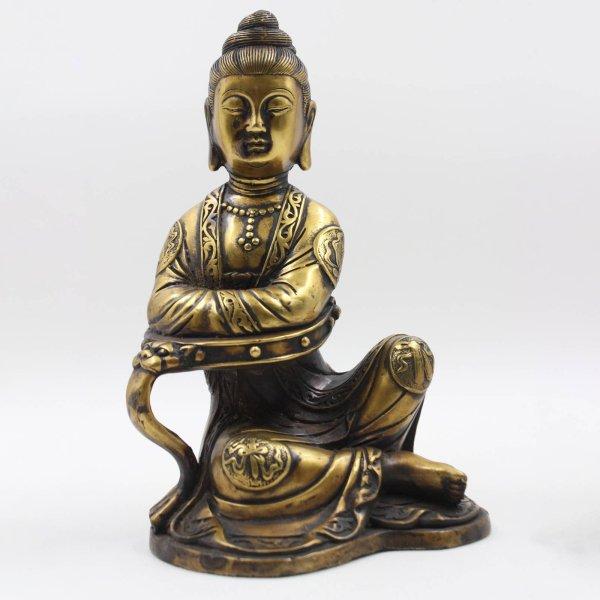 Kwan-Yin Buddha Figur, Bronze