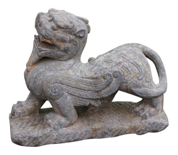 Schneelöwen aus Tibet chinesische Steinfigur