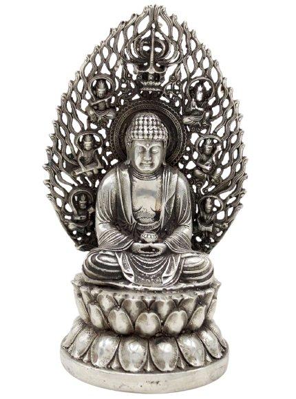 Amitabha Buddha Figur (20cm) Bronze Statue