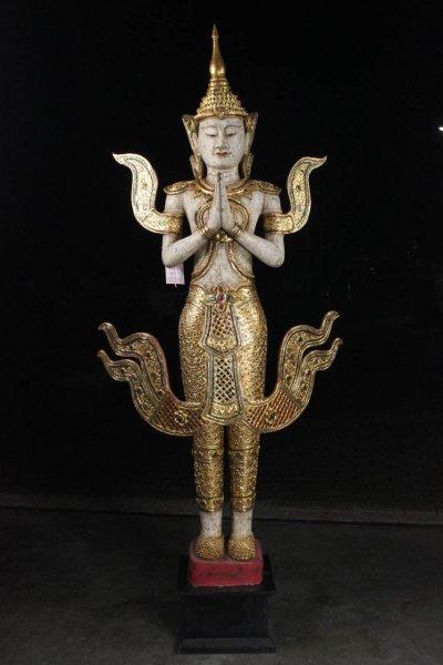 Blattvergoldeter Tempelwächter Teppanom, Thailand