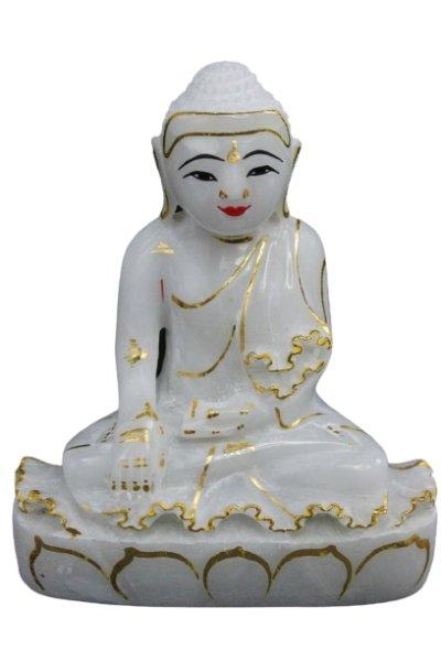 Siddharta Gautama Buddha aus Marmorstein