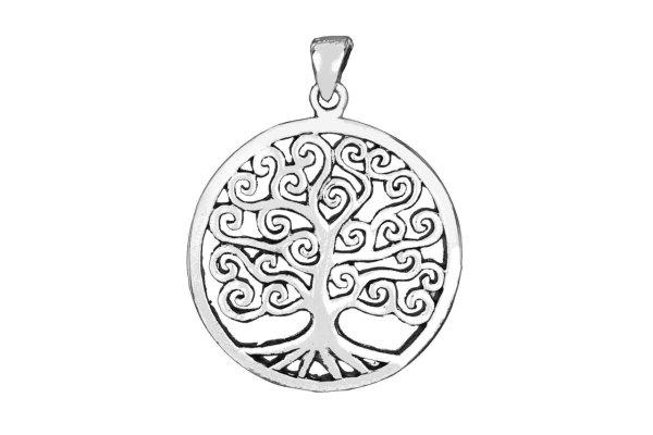 Symbol Anhänger Lebensbaum 925er Sterlingsilber