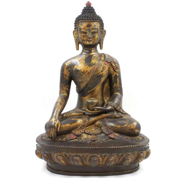 Siddharta Gautama Buddha (45cm) Bronze Shakyamuni Figur