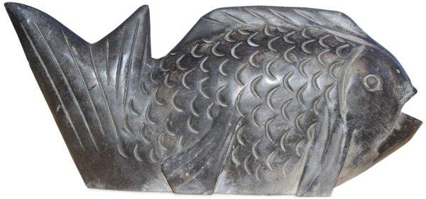 Koi Wasserspeier aus Stein