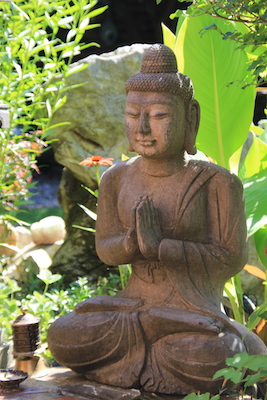 Buddha-Garten-Skulptur