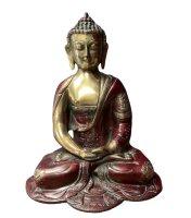 Amitabha Buddha Figur aus Bronze - Nepal