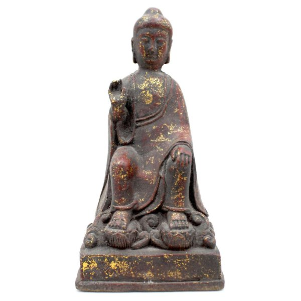 Amoghasiddhi Buddha (23cm) Bronze Figur Schutzgeste