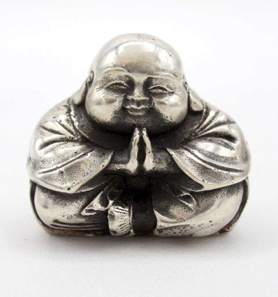 Chinesische Hotai Buddha Figur (5,5cm) Kleiner Glücksbringer