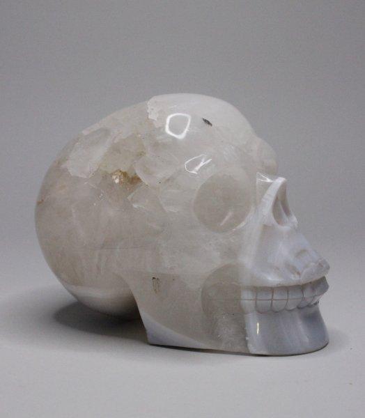 Kristall Totenkopf - Skull aus Bergkristall