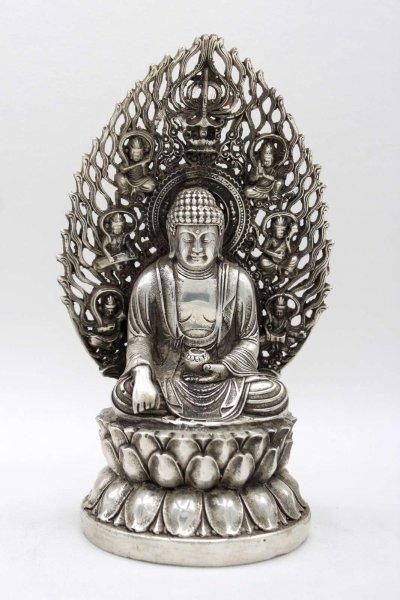 Siddharta Buddha (20cm) Bronze Figur China