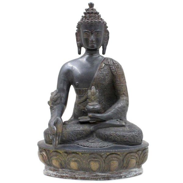 Bhaisajyaguru Medizin Buddha (29,5cm) Bronze Figur