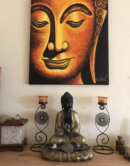 Buddha-Figur-Tibet